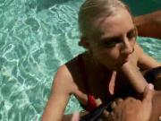 Divine Blonde Chick Enjoys Sucking & Fucking