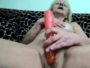 Old hairy blonde masturbating Compilation