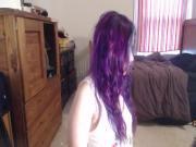 Striptease in my bedroom