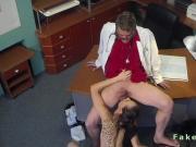 Doctor fucks sexy tattooed patient
