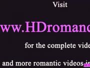 Romantic intense couple incredible passion