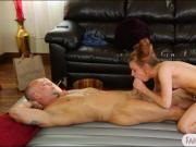 Sultry masseuse gives nuru massage and banged by her client