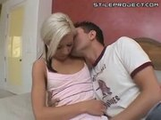 blonde teen kacey jordan fucked by a thick cock