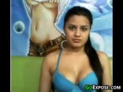 Indian Cutie Showing Off Her Tits