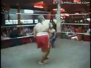 Midget kickboxing