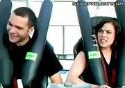 she doesn't like rollercoasters LOL