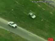awesome car chase ends up in a car crash
