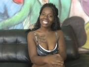 Lusty Ebony Hoe Latrine Sucks Big White Cock