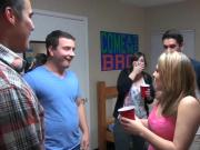 Winsome and racy college party