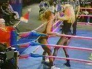 Femme Wrestler Finished Off