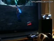 Dog Plays Skateboarding Video Game