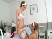 Nympho Nurses Lick With Their Hot Cunts!