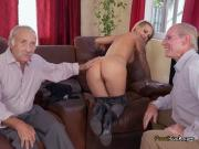 Teen Presley Carter Gets Freaky With Old Men For Cash