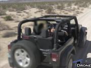 Teen Mercedes Carrera Drone Blowjob Outdoor Fucking