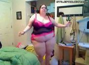huge fatty does a fatty dance