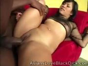 Horny brotha makes a Asian tight pussy begs for mercy