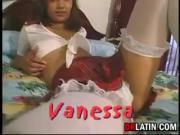 Cute Latin Girl Anal Fucked