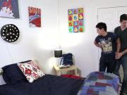 Gay teen newbie fucks ass