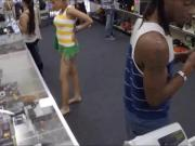 Black BF pawns her GFs vagina at the pawnshop for money