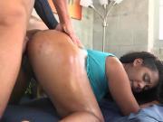 Ebony Slut Finesse Gets Fingered And Fucked