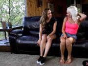 Hottie Remy gave Natasha a good massage and pussy munching