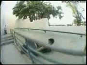 Skater Breaks Arm And Is Calm