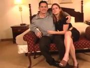 Guy And Two Girls Have Oral Threesome