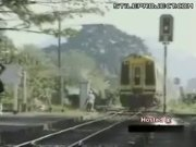 Moped Vs. Train