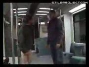 bully pantsed on train
