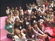 Audience Of Japanese Girls Suck Cock (Censored)