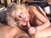 Mature Granny Lady Gets A Facial