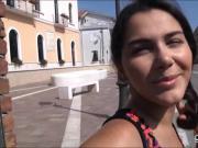 Big jugs amateur Valentina Nappi screwed for some money