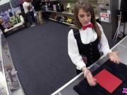 Hot Card Dealer Needs A Break