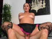 Cougar Madisin Receives A Pounding And Facial