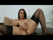Horny Model Working Clit With Big Toys