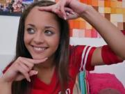Cute Teen Holly Hendrix Shows Off Her Amazing Assets