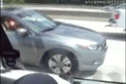 guy jerking off in his car on the highway