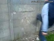 Epic Fail Concrete Wall Sparta Kick