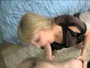 Fellatio loving MILF sluts toying with dong