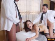 Eva Long Gets Fucked By Two Horny School Boys