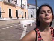 Eurobabe Valentina Nappi pounded in public for some money