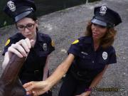 Horny Cops Share Suspects Big Black Cock
