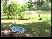 UninhibitedStarlet Worships A Manly Erection At Park