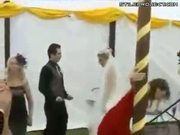 wedding pole dance goes wrong - FAIL!