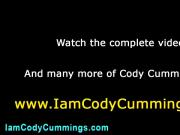 Cody watches straight porn alone