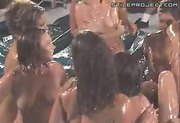 Oiled Up Slippery Lesbian Party