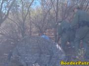 Border Patrol cop fucks mexican