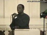 Black Guy High On Crack Sings Amazing Grace In Church