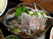 Sashimi Served Still Alive