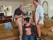 College Babe Sydney Sky Blows Old Cocks For Money